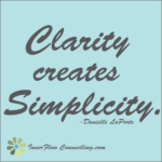 Communication – Clarity
