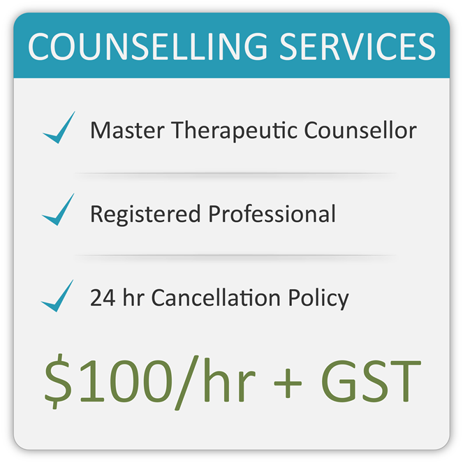 Inner Flow Counselling Rates | $100/hr+GST